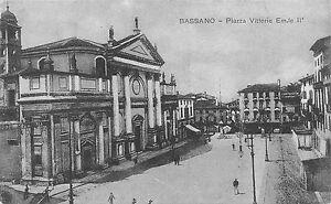 540) BASSANO (VICENZA) PIAZZA VITTORIO EMANUELE II. ANIMATA. - Italia - L'oggetto può essere restituito - Italia