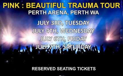 PINK BEAUTIFUL TRAUMA TOUR | PERTH | JULY 3/7 2018