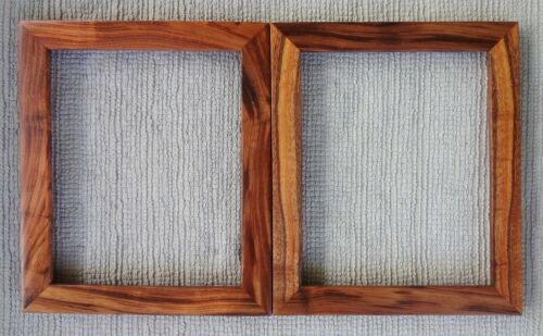 2 Koa frame 8x10 inch WIDE solid koa wood picture frame hawaii real hawaiian koa