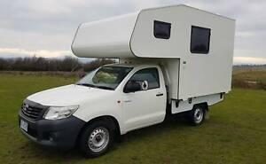 Toyota Hi-Lux 2 Berth Motorhome Devon Hills Northern Midlands Preview