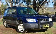 2002 Automatic Subaru Forrester AWD Narrabri Narrabri Area Preview