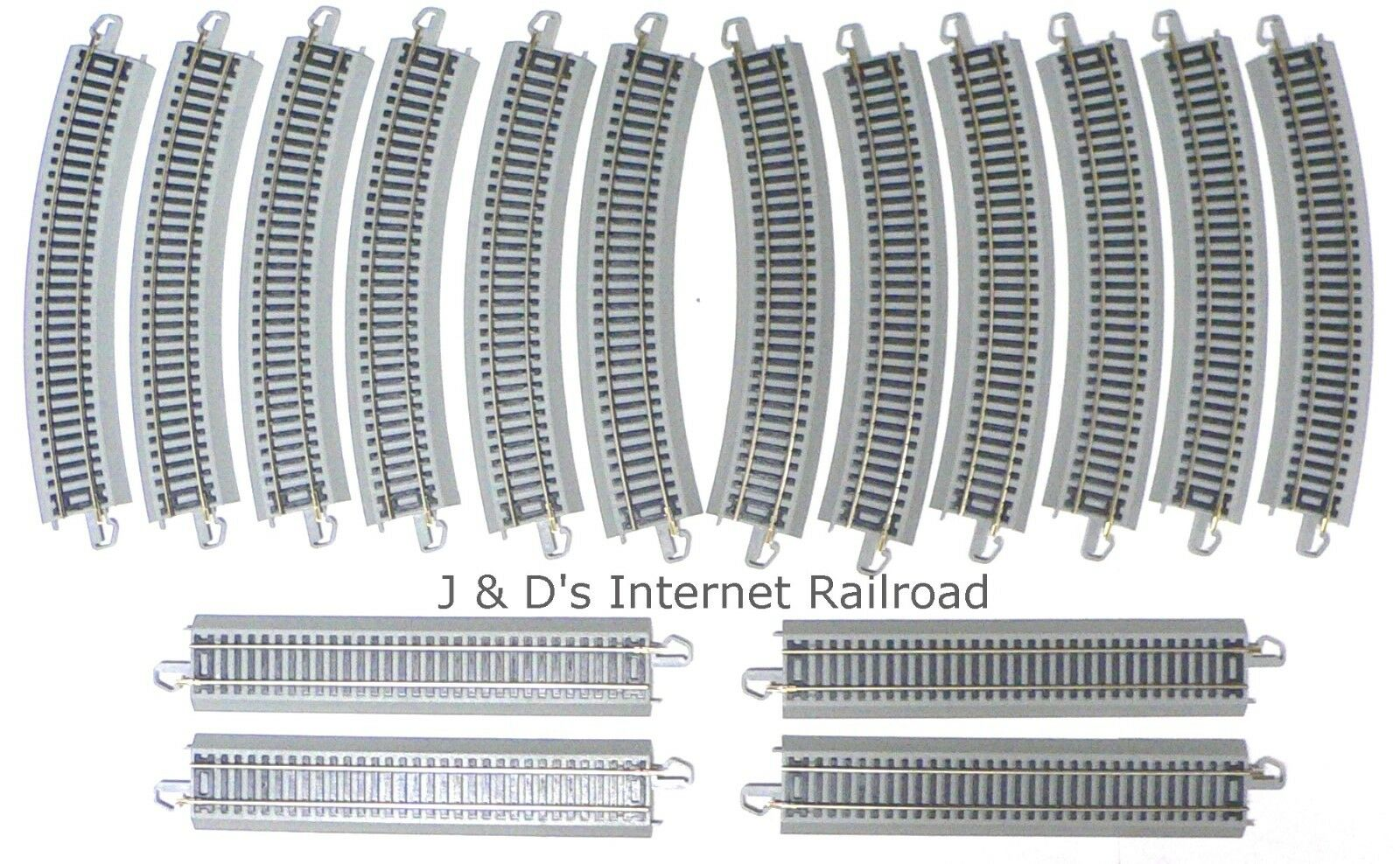 Bachmann EZ Track Silver 38 X 56 Oval Lot HO Scale Model Railroad Trains Layout
