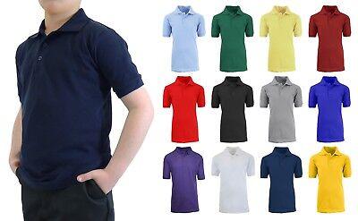 School Uniform Polo for Boys Choose Shirts Color - Sizes 4-20 NWT FREE SHIPPING Boys School Uniform