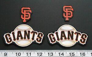 San Francisco Giants MLB Team Fabric Iron On Applique Patch NO SEW Shirt Logo