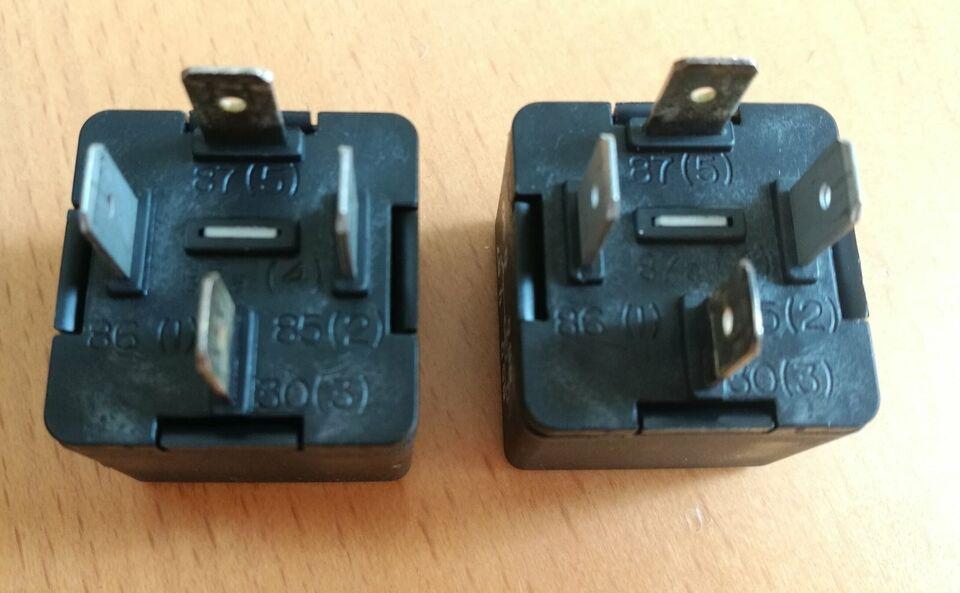 1 X Relais 30A 12V Thermosicherung VW AUDI 443937105A