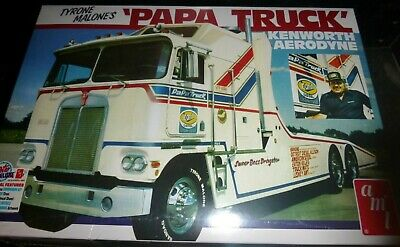Papa1//25 Tyrone Malone Kenworth Transporter Papa Truck AMT932//06