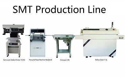Smt Pick And Place Machine Neoden4solder Printerconveyorreflow Oven