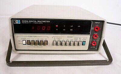 Hewlett Packard 3435a Digital Multimeter