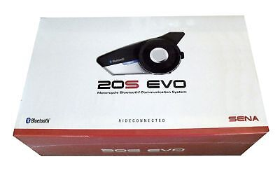 Sena 20S EVO Motorcycle Bluetooth Headset Single HD Communication 20S-EVO-01