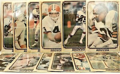 Lot of 23 1989? Cleveland Browns Reprints Autographed Posters News/Illustrated