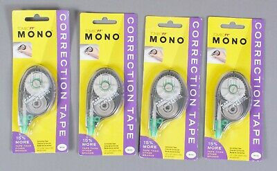 Tombow Mono Correction Tape 68620 - Lot Of 4 - Free Shipping