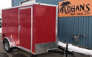 2017 CONTINENTAL CARGO TRAILER 6 X10 FT