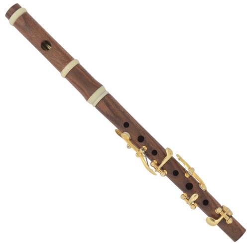 Classical Piccolo D | Jean-Louis Tulou 1840 Reproduction 6 key D Piccolo 430hz
