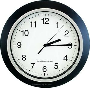 New - ATOMIC WALL CLOCKS - DEADLY ACCURATE TO THE SECOND - SAVE ON BIG BOX STORE OPEN BOX INVENTORY !!