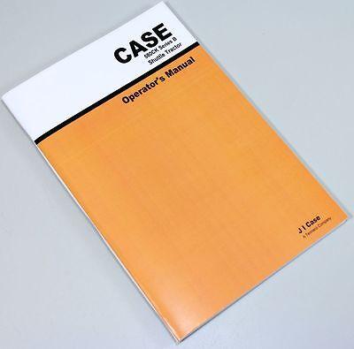 CASE 580B 580CK SERIES B SHUTTLE TRACTOR BACKHOE LOADER OWNERS OPERATORS MANUAL