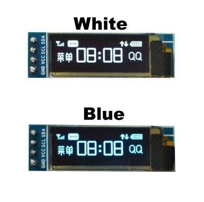 0.91 128x32 Iic I2c White Blue Oled Display Module Dc3.3v 5v For Pic Arduino