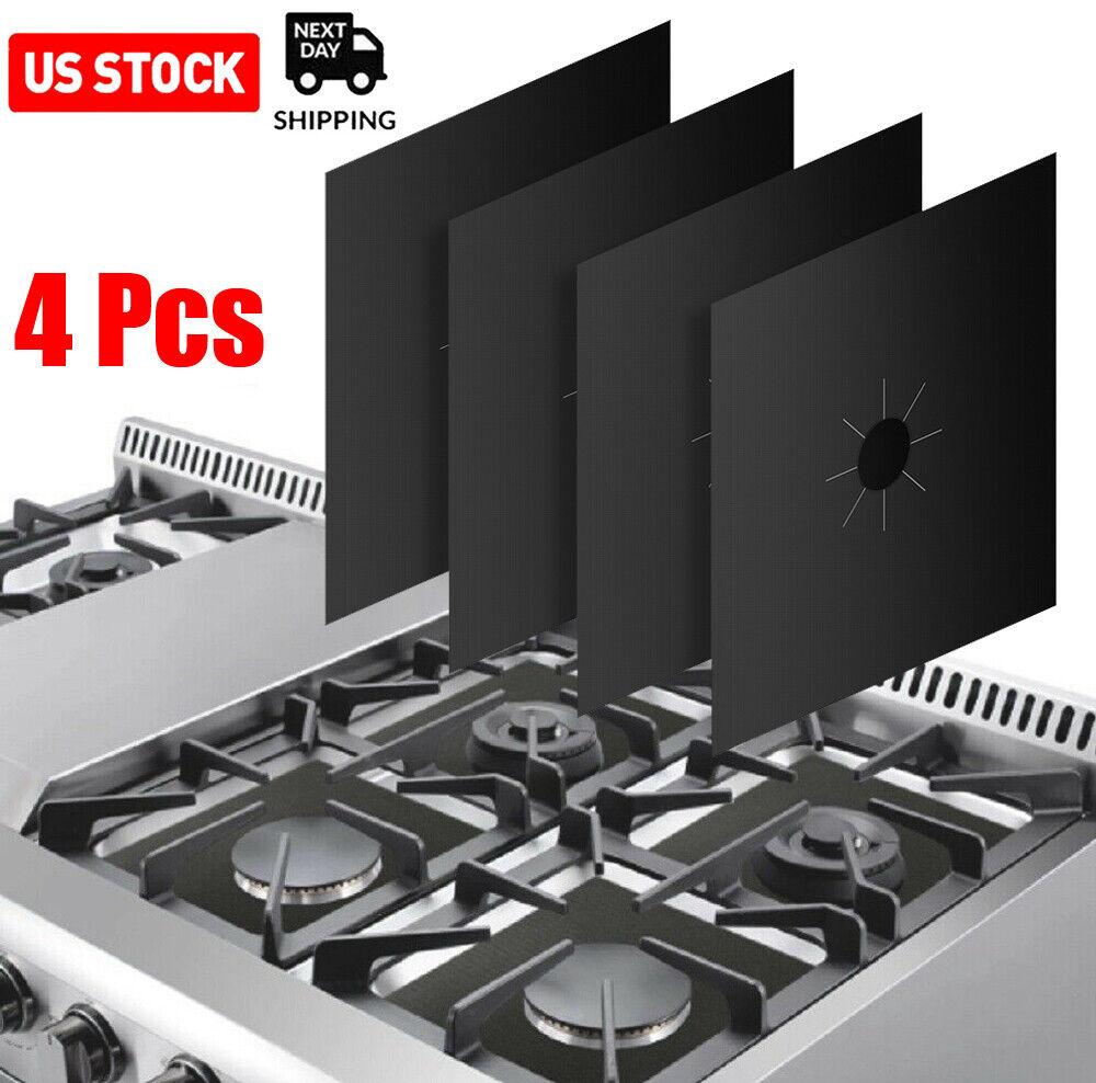 4 pcs gas range stove top burner