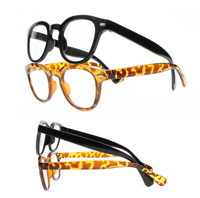 Square Frame Silver Rivets Near-sighted Myopia Glasses Nerd Geek -100 -600