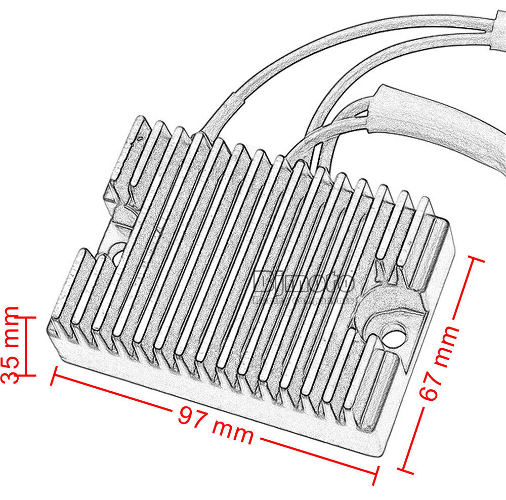 Voltage Regulator Rectifier For Harley Davidson Sportster