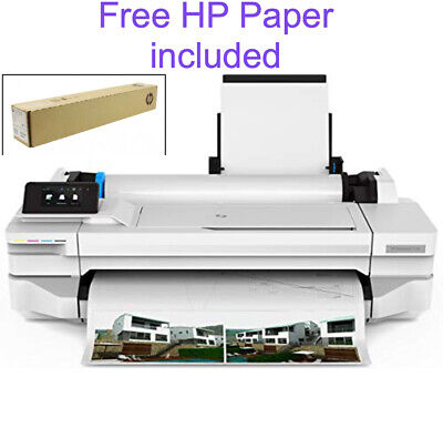 Hp Designjet T130 24-in Large Format Printer. Ships Free Same Day Orders 5pm Et