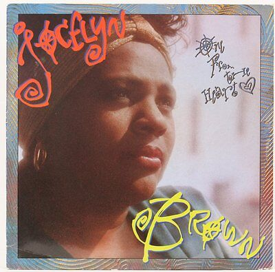 One From The Heart   Jocelyn Brown  Vinyl Record