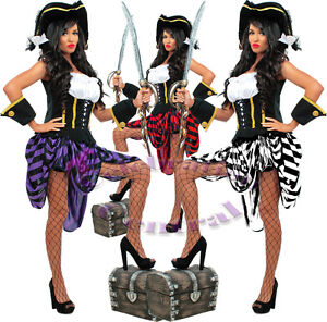 Pirate-Lass-Ladies-Stunning-Fancy-Dress-Costume-now-in-2-colours