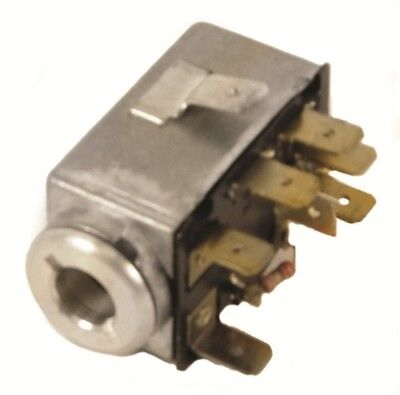 Emergency Flasher Switch, 7 Prong, VW Type 1 Bug & Ghia 68-73, Type 2-3 68-72