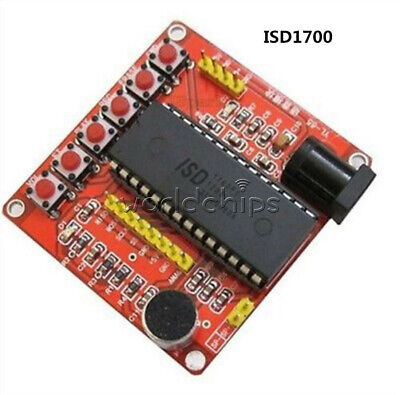 Isd1700 Voice Recording Module Class Isd1760 Voice Module Avr Arduino Pic New