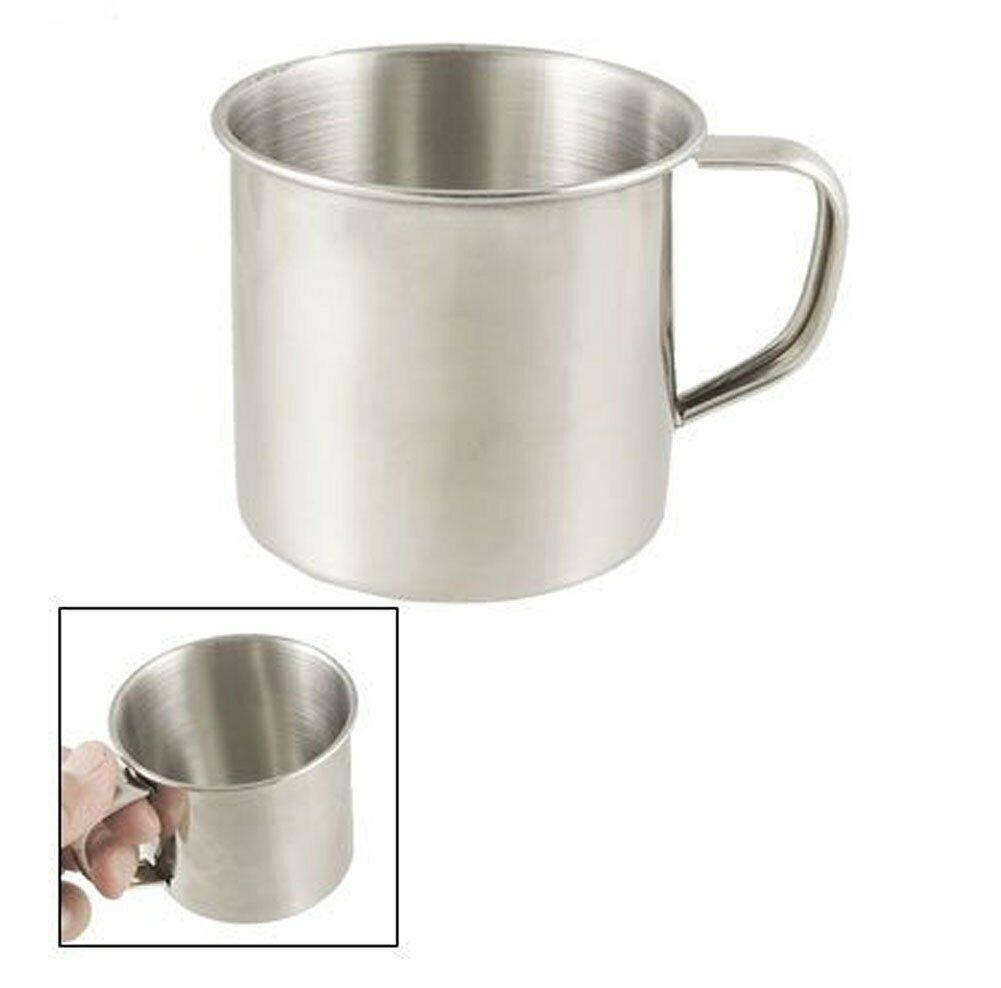 6 Pack Stainless Steel Coffee Soup Mug Tumbler Camping Mug Cup 12oz  1