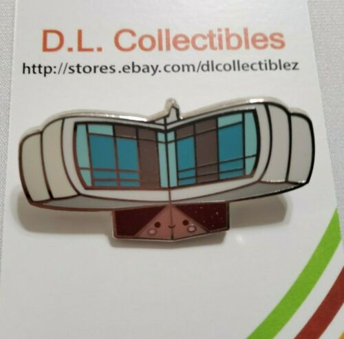 Disney Attractions Kingdom of Cute mystery house of the future Pin