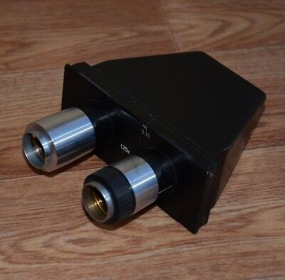 Pzo Stereo Binocular Head 125x To Poland Microscope Biolar