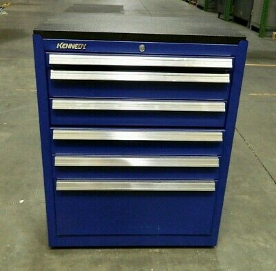 Kennedy Steel Roller Cabinet 6 Drawer Blue 2800 Lb Load Cap. 2702mpbl Repair