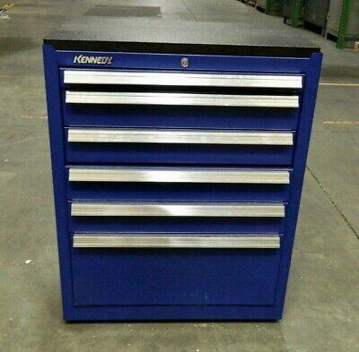 Kennedy Steel Roller Cabinet 6 Drawer Blue 2800 Lb Load Cap. 2702mpbl Repair