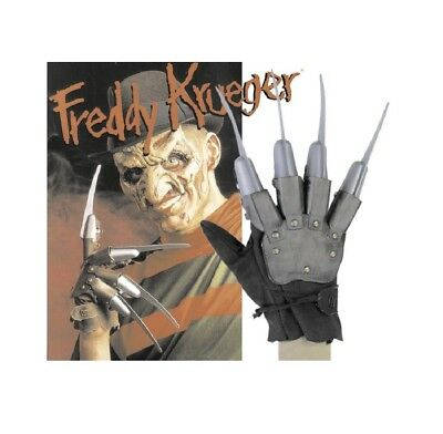 Freddy Krüger Krueger Krallen Handschuh Kostüm Horror Nightmare on Elmstreet NEU