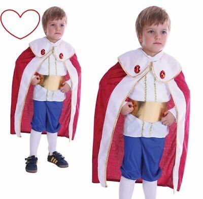 Jungen König Kostüm Kleinkinder Buch Tag Woche Verkleidung Kleid