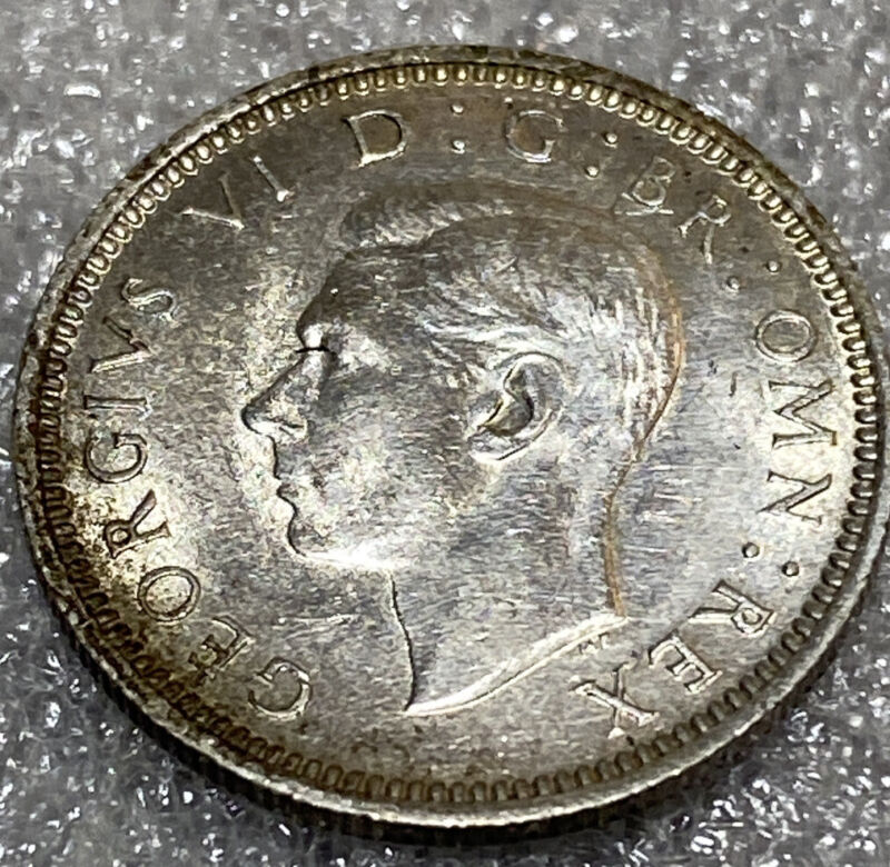 1941 Six Pence Great Britain