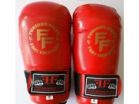 Furiousfistsuk Karate Strike Gloves Red Color