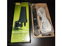 NEW (OPEN BOX TO TAKE PICTURES) DIGITAL TV ACTIVE ANTENNA WITH INSIDE AMPLIFIER