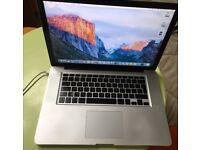 Macbook Pro Unibody (late 2008) 256Gb+500Gb, 4Gb RAM