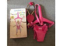 Like new baby girl Lindam bouncer/jumperoo