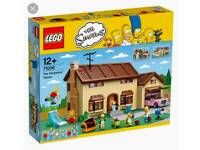 Lego Simpson's house and figures set