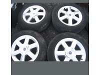 16''inch alloy wheels with tyres 5stud 215/60R/16