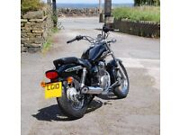 2010 Suzuki Marauder GZ 125 L0 fuel injection. This model is becoming a rare breed