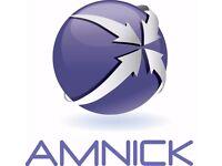 Amnick Work Experience Programme in Business Development, HR, Finance, Legal & Graphics Design
