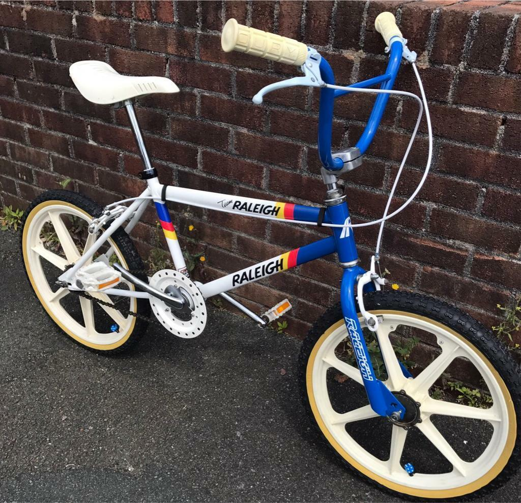 Raleigh Burner Mk2 1984 Old School Bmx In Plymouth