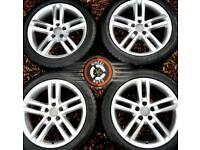 "18"" Genuine Audi S Line twin spoke alloys perfect condition matchg premium tyres."