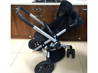 Quinny Buzz Rocking Black pushchair in very good condition