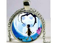 Coraline necklace ,brand new less than half price