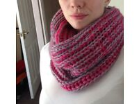 Knitted winter warm scarf NEW