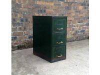 antique 3 drawer filing cabinet art metal 1936 royal mark GVR vintage industrial
